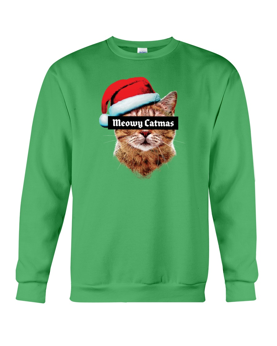 Meowy Catmas Crewneck Sweatshirt