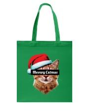 Meowy Catmas Tote Bag back