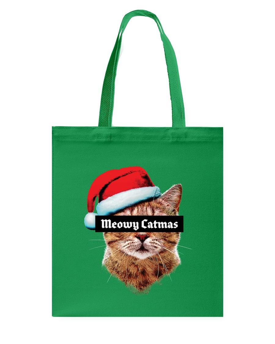 Meowy Catmas Tote Bag