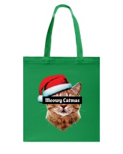 Meowy Catmas Tote Bag front