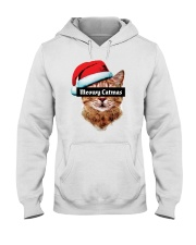 Meowy Catmas Hooded Sweatshirt front