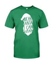 Dear Santa I Can Explain Premium Fit Mens Tee thumbnail