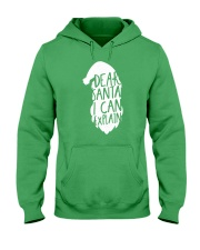 Dear Santa I Can Explain Hooded Sweatshirt thumbnail