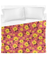 Yellow Flowers Duvet Cover tile