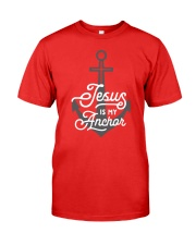 Jesus is my Anchor Premium Fit Mens Tee thumbnail