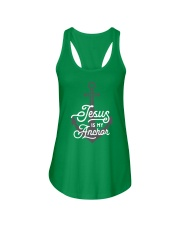 Jesus is my Anchor Ladies Flowy Tank thumbnail