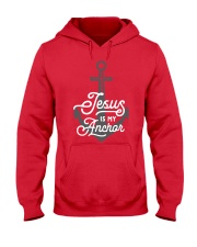 Jesus is my Anchor Hooded Sweatshirt thumbnail