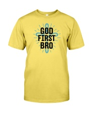 God first bro Premium Fit Mens Tee tile