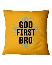 God first bro Square Pillowcase tile
