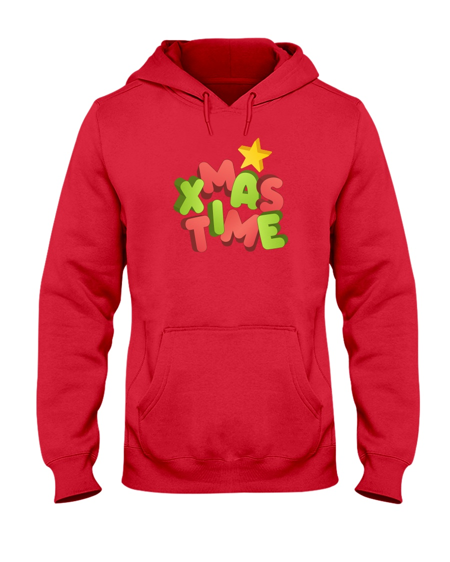 It Is Xmas Time Hooded Sweatshirt