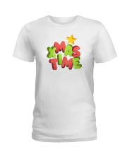 It Is Xmas Time Ladies T-Shirt thumbnail