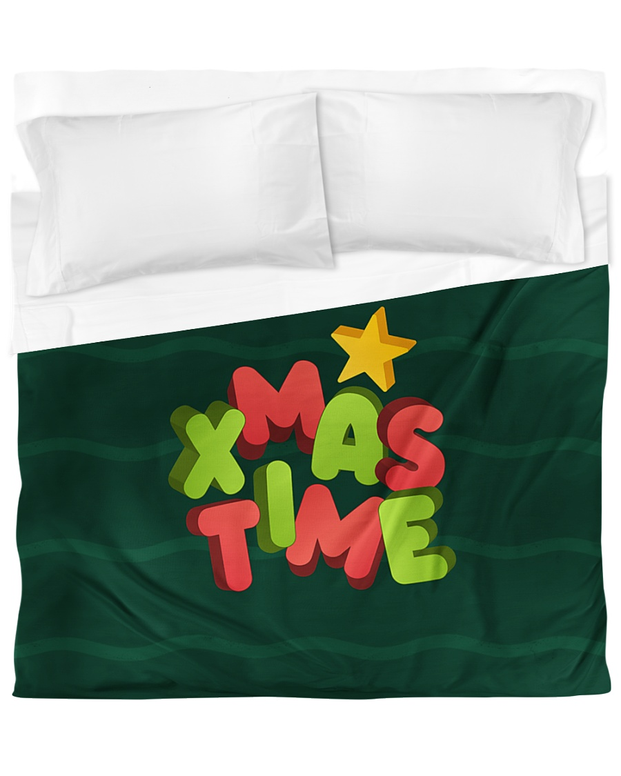 It Is Xmas Time Duvet Cover - King