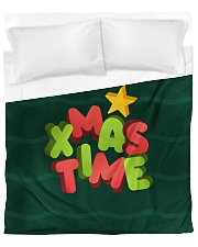 It Is Xmas Time Duvet Cover - Queen front