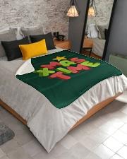 """It Is Xmas Time Sherpa Fleece Blanket - 50"""" x 60"""" aos-sherpa-fleece-blanket-lifestyle-front-02"""