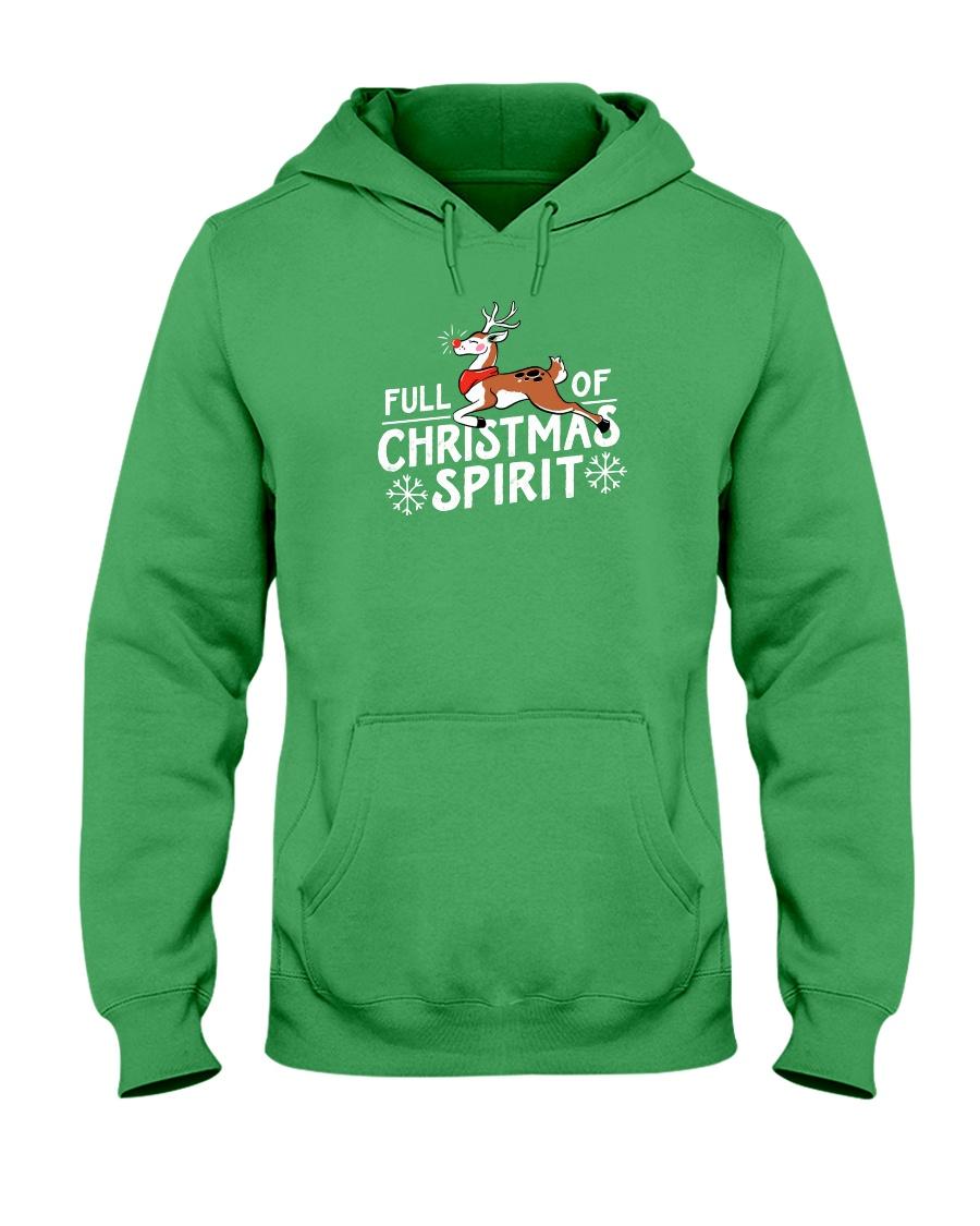 Christmas Spirit Hooded Sweatshirt