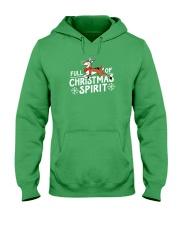 Christmas Spirit Hooded Sweatshirt front