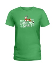 Christmas Spirit Ladies T-Shirt thumbnail