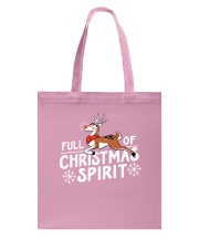 Christmas Spirit Tote Bag thumbnail