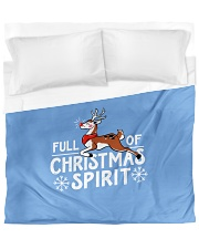Christmas Spirit Duvet Cover - King front