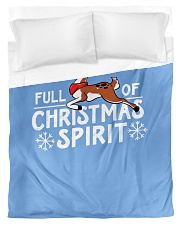Christmas Spirit Duvet Cover - Twin front