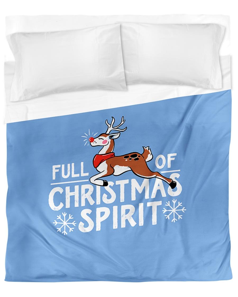Christmas Spirit Duvet Cover - Queen