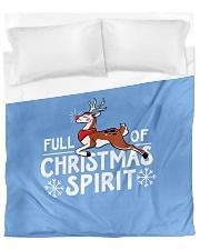 Christmas Spirit Duvet Cover - Queen front