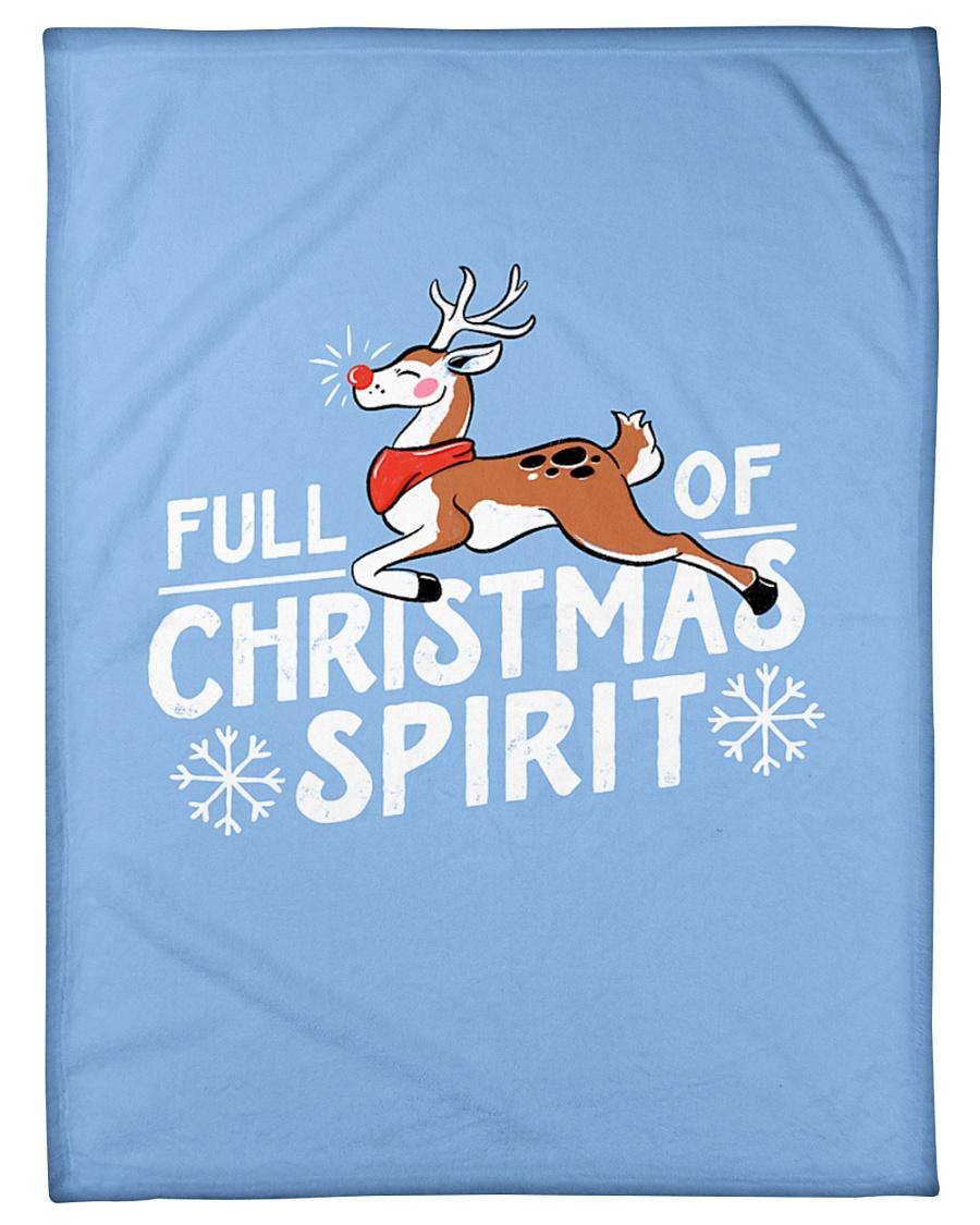 "Christmas Spirit Small Fleece Blanket - 30"" x 40"""