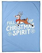 "Christmas Spirit Small Fleece Blanket - 30"" x 40"" front"