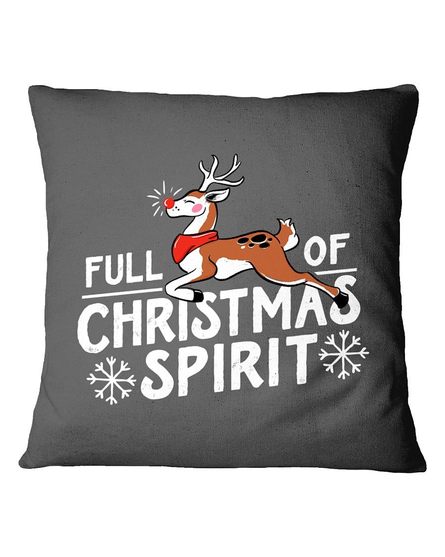 Christmas Spirit Square Pillowcase