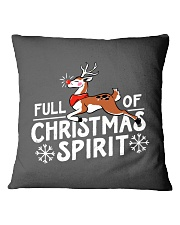 Christmas Spirit Square Pillowcase thumbnail