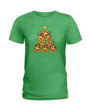 Pizza Pizza Pizza Ladies T-Shirt thumbnail