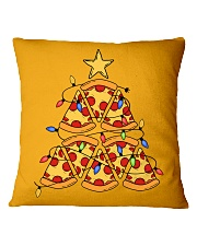 Pizza Pizza Pizza Square Pillowcase thumbnail