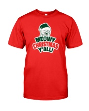 Meowy Christmas You All Classic T-Shirt front
