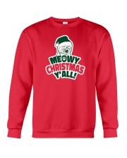 Meowy Christmas You All Crewneck Sweatshirt tile