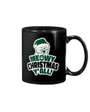 Meowy Christmas You All Mug tile