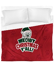 Meowy Christmas You All Duvet Cover - King front