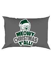 Meowy Christmas You All Rectangular Pillowcase tile