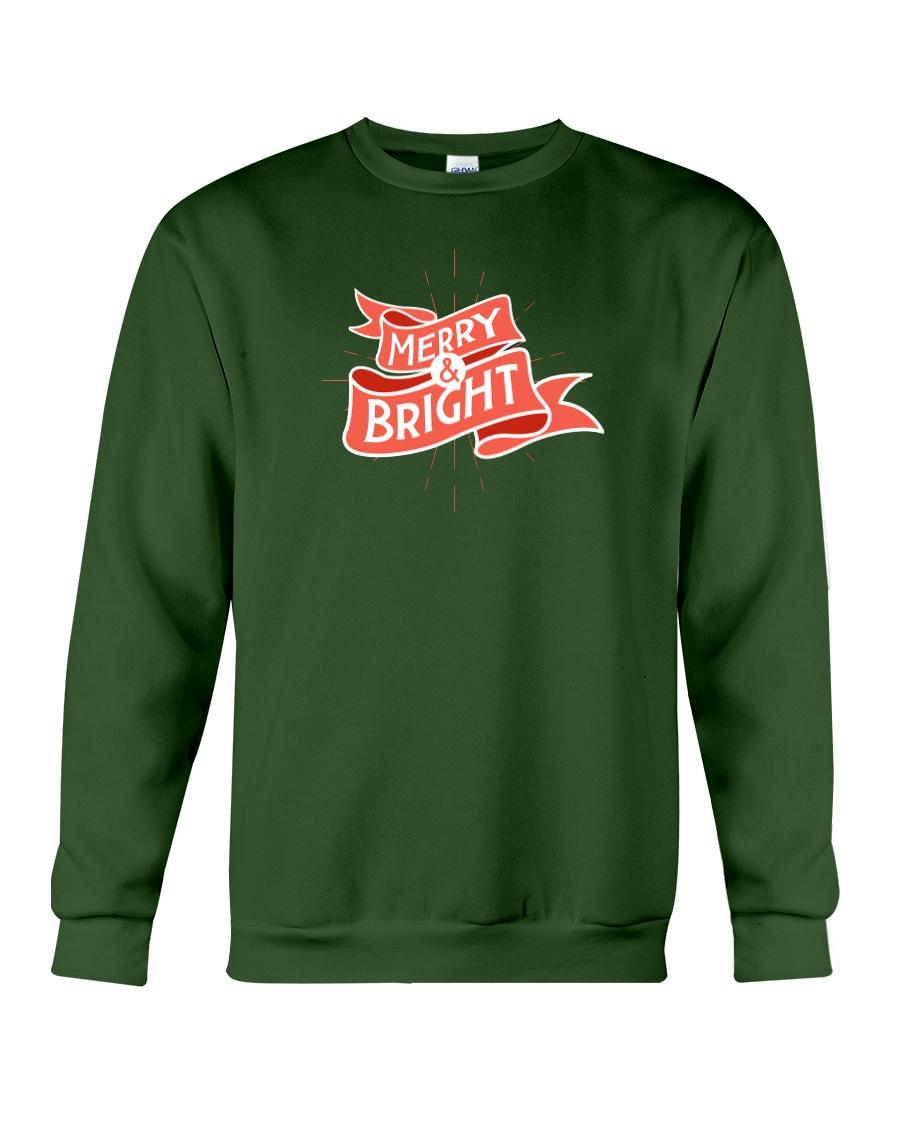 Merry And Bright Crewneck Sweatshirt