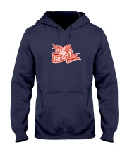Merry And Bright Hooded Sweatshirt thumbnail