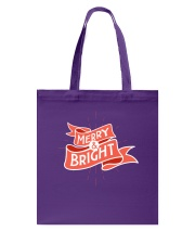 Merry And Bright Tote Bag thumbnail