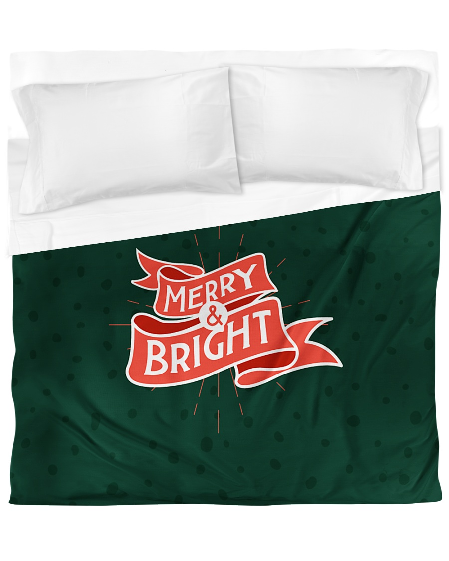 Merry And Bright Duvet Cover - King