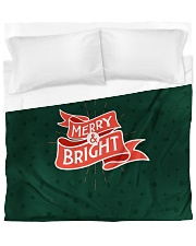 Merry And Bright Duvet Cover - King front