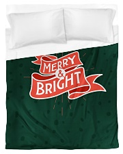 Merry And Bright Duvet Cover - Twin front