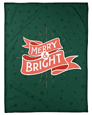 "Merry And Bright Small Fleece Blanket - 30"" x 40"" front"