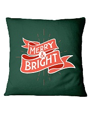 Merry And Bright Square Pillowcase thumbnail