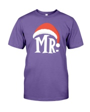 Mr Christmas Hat Premium Fit Mens Tee thumbnail