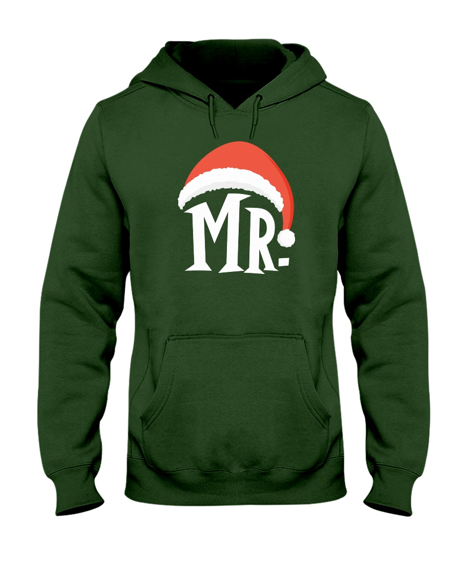 Mr Christmas Hat Hooded Sweatshirt
