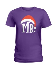 Mr Christmas Hat Ladies T-Shirt thumbnail