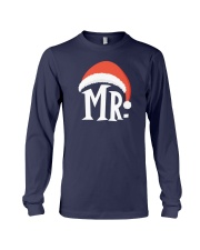 Mr Christmas Hat Long Sleeve Tee thumbnail