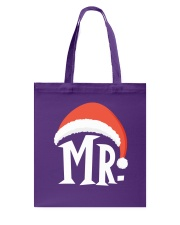 Mr Christmas Hat Tote Bag thumbnail